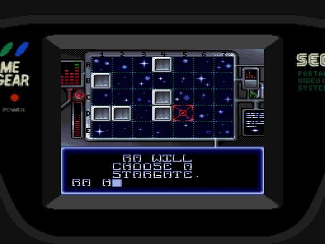 Test GameGear : Stargate StargateUE003