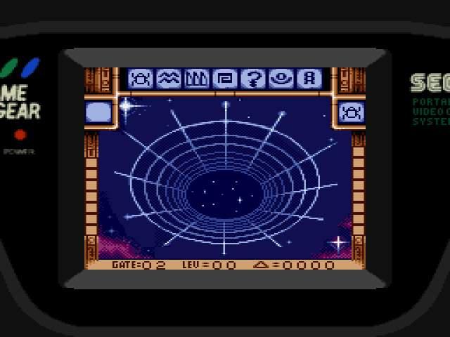 Test GameGear : Stargate StargateUE005