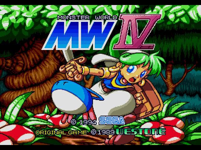 Test : Monsterworld IV WBOY6001