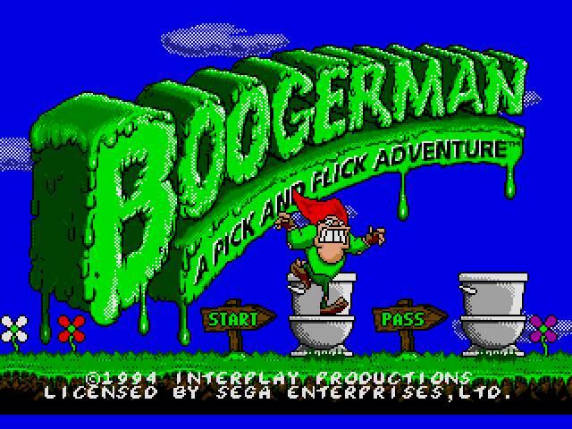 Test Megadrive : Boogerman Boogerman002_zps30df3b17