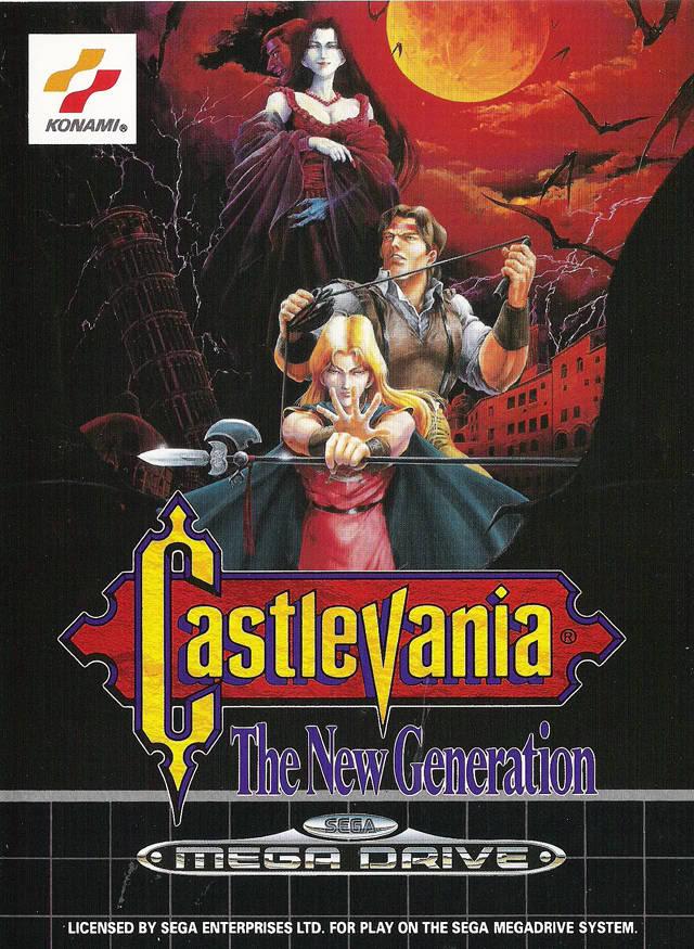 Test Megadrive : Castlevania Castlevania_the_new_generation_MegaDrive_Jaquette