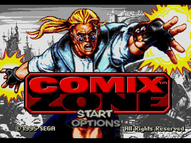 Test MD : Comix Zone ComixZone001_zps87943add