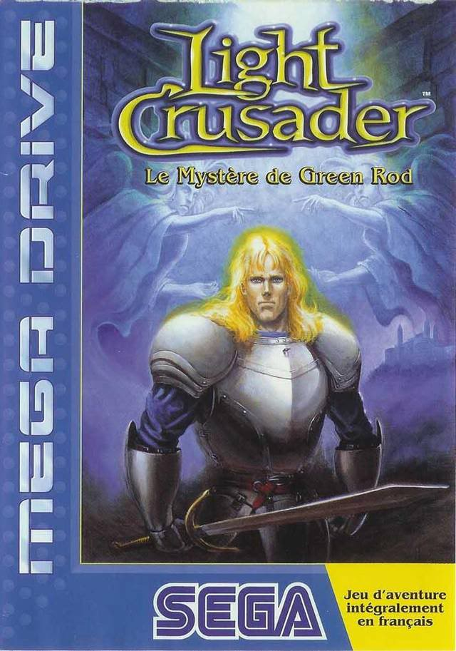 Test Megadrive : Light Crusader Cover-pal-lc