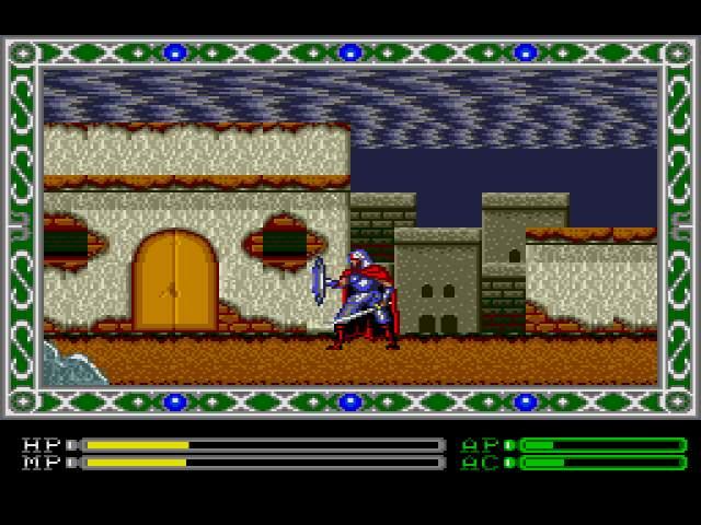 Test Megadrive : Exile Exilemdrom005