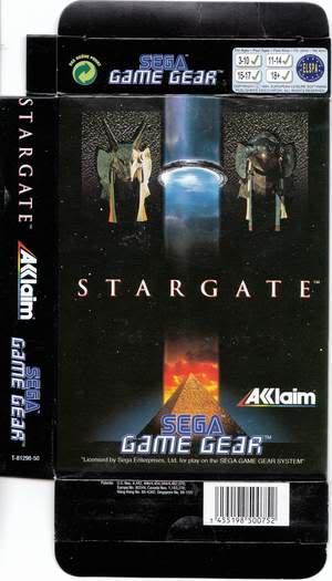 Test GameGear : Stargate Stargate1