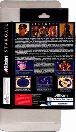 Test GameGear : Stargate Stargate2