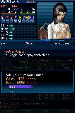 Test : Shin Megami Tensei : Strange Journey 4_zps3c078127