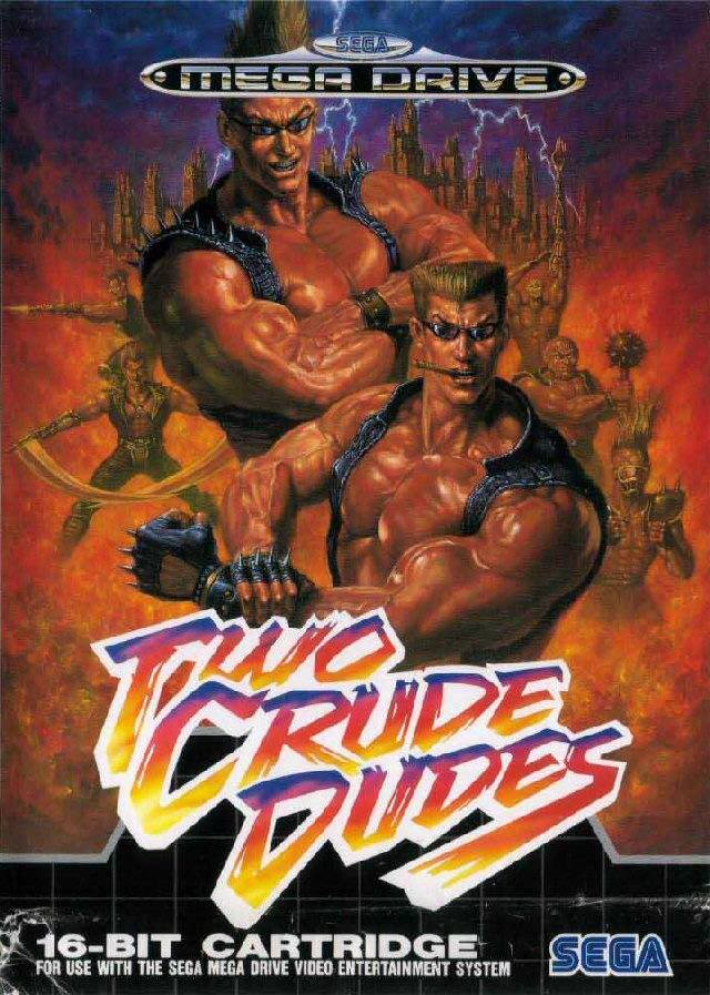 Test Megadrive : Two Crude Dudes Twocrudecover