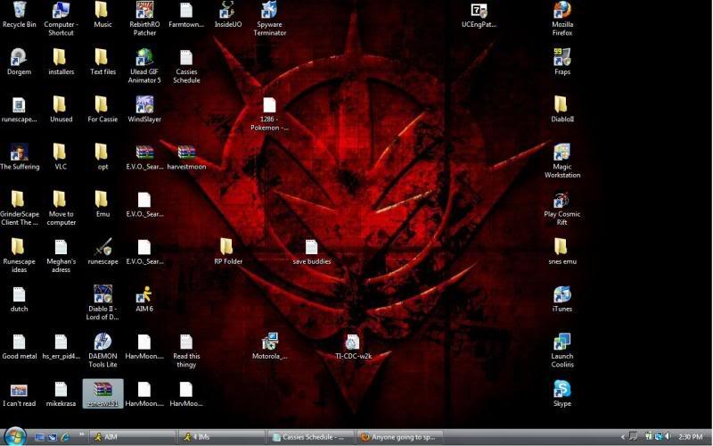 Whats your desktop background? Desktop