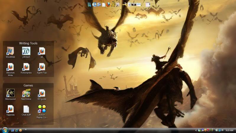 Your desktop background? Desktopp
