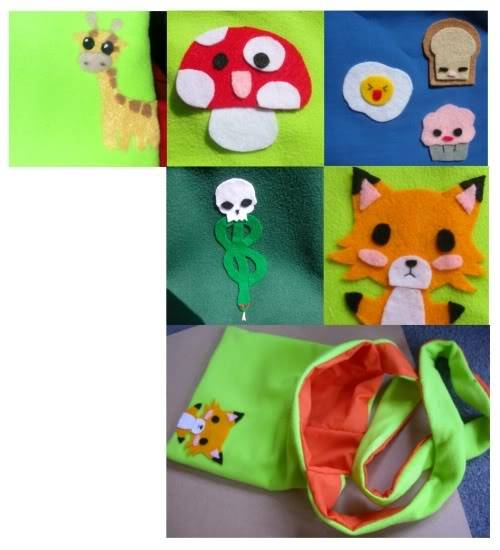 New Commissions Bags