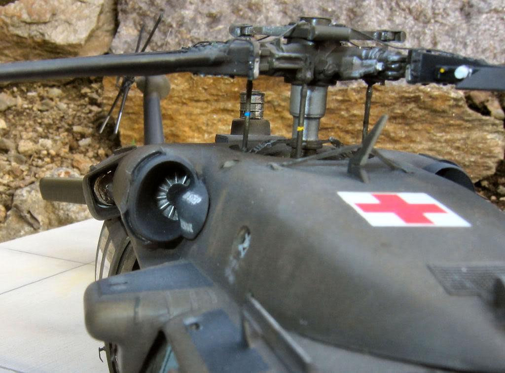 UH-60A Medevac Academy (Italeri) 1/35 1UH6168