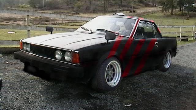TE72 Corolla Redstripe