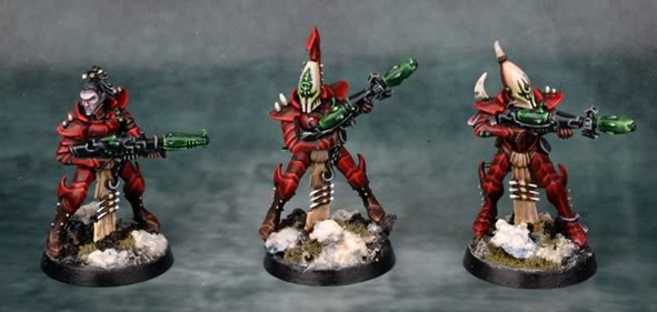 Painting Eldar Allies. Do you paint them in the same scheme? 9