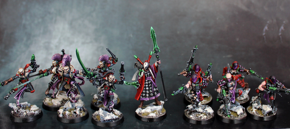 Painting Eldar Allies. Do you paint them in the same scheme? Alle-5