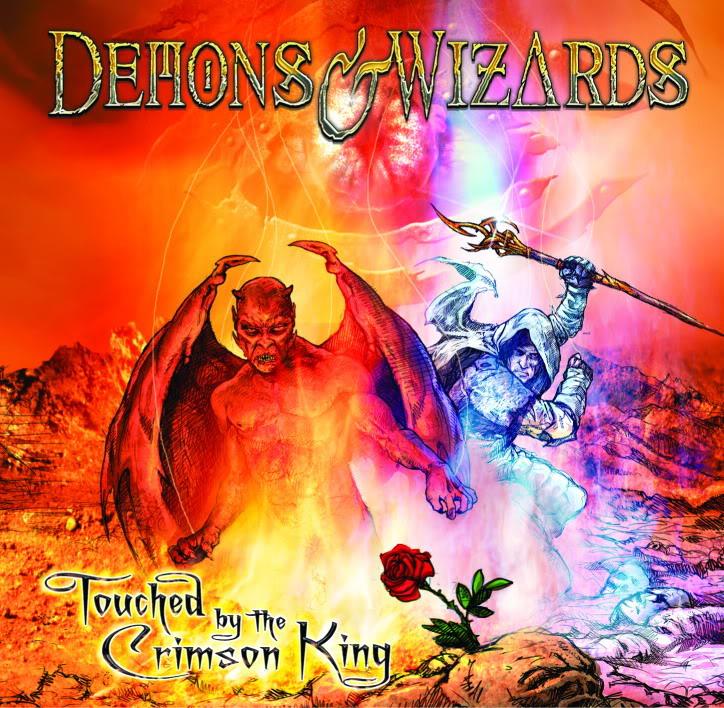 Demons And Wizards: Sus dos discos!! Demonsandwizards2