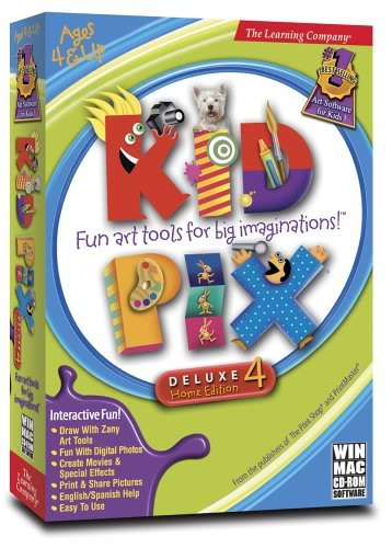 أكبر موسوعة اسطوانات تعليمية للأطفال فى كل المجالات Kidpix