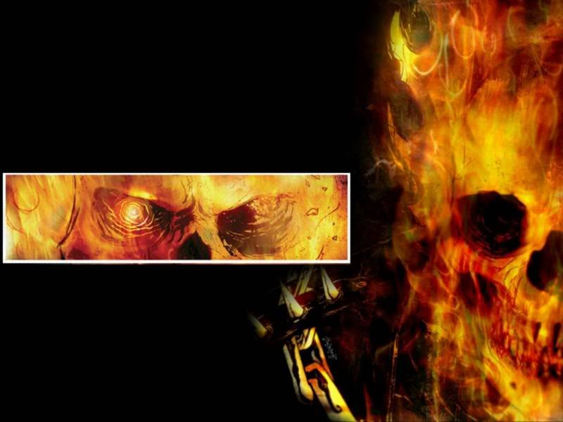LE CAVALIER FANTOME ( Ghost  Rider ) Ghost-rider-hell-style