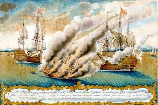 El navio de tres puentes en la Armada Sicie3