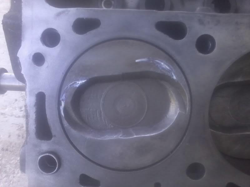 SCJA heads on a stock 460 SCJAvalve