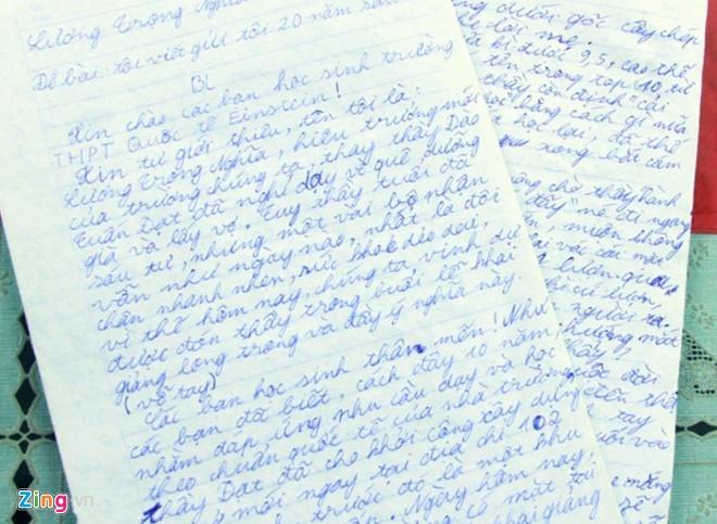 """Bài kiểm tra văn """"bá đạo"""" của học sinh lớp 10 Vanbadao_zps452caea5"""