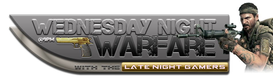 Wednesday Night Warfare: Wed 15 Feb 12 (from 9pm) WedsNightWarfare_v2