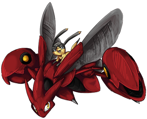 Eris the Scizor and Gramps the Helioptile (Under|Ace) Nyra%20comm%20less%20red_zpsti0meccz