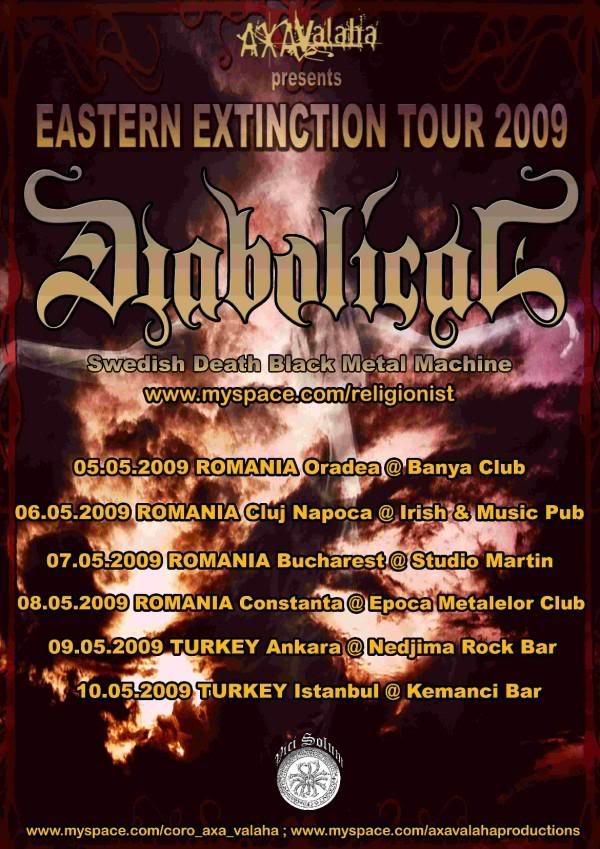 DIABOLICAL - EASTERN EXTINCTION 2009 Toursmall