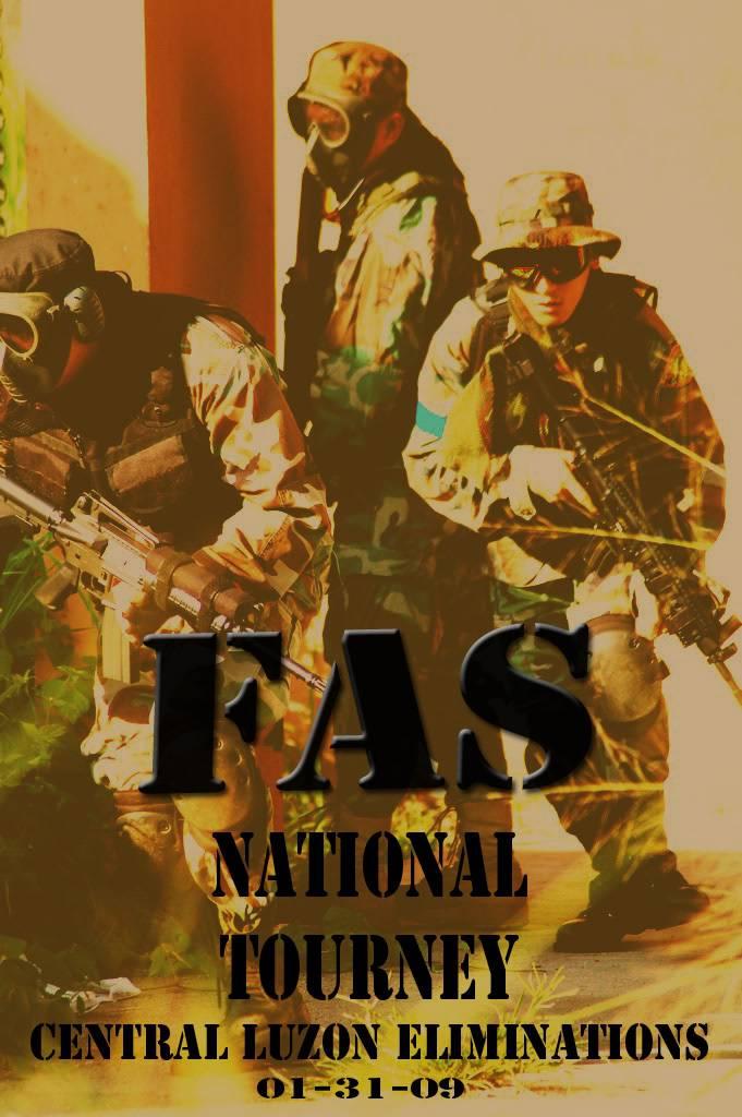 FAS Nationals - Central Luzon Eliminations Banner1