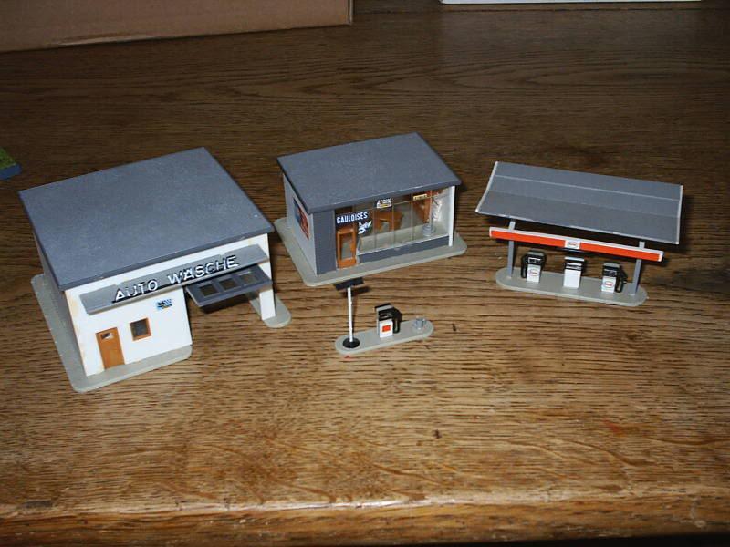 projet d'une Garage Citroen ech. 1/87 August09002