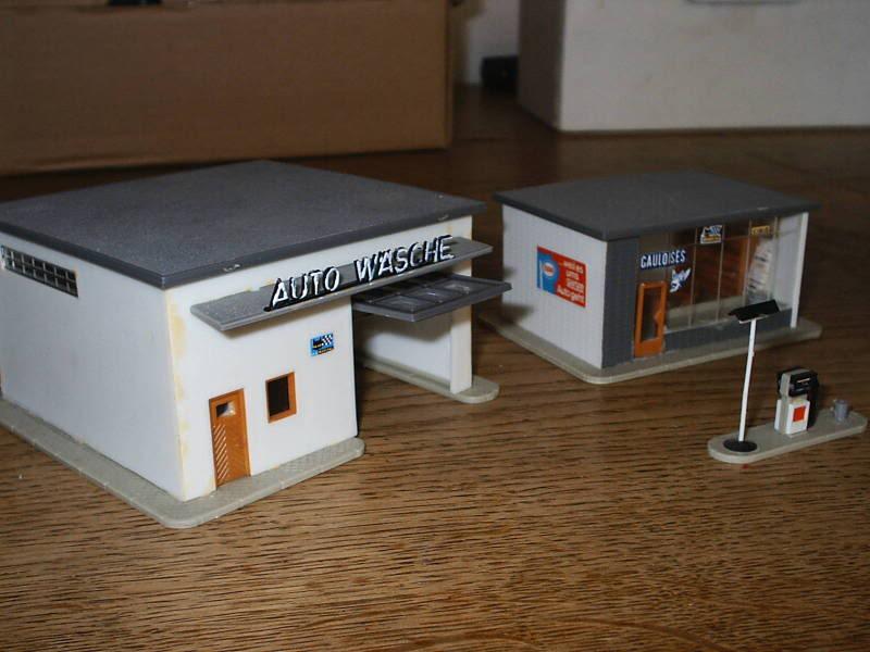 projet d'une Garage Citroen ech. 1/87 August09003