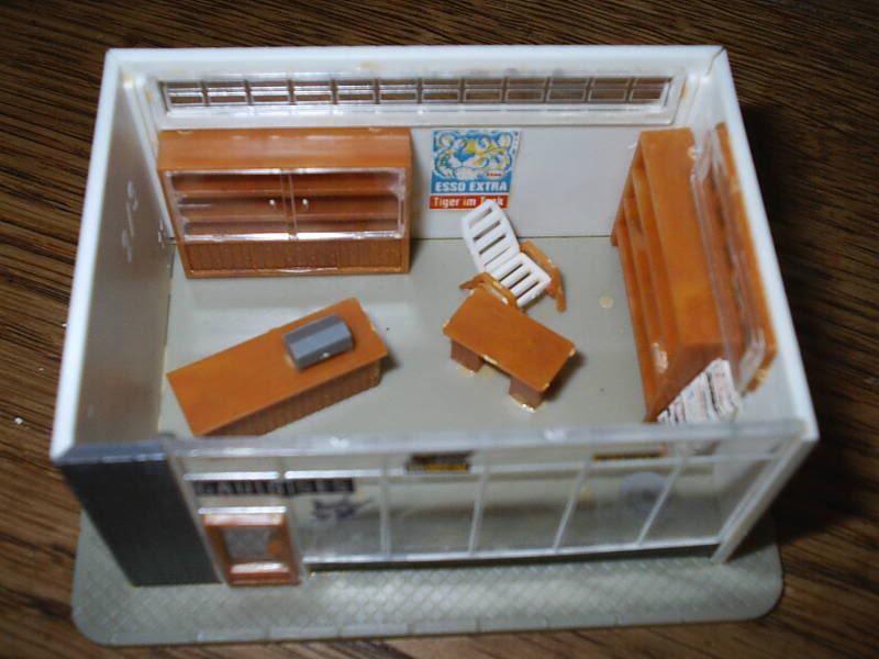 projet d'une Garage Citroen ech. 1/87 August09006