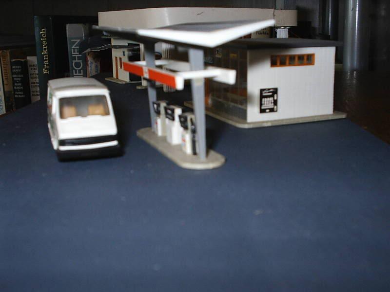 projet d'une Garage Citroen ech. 1/87 August09013