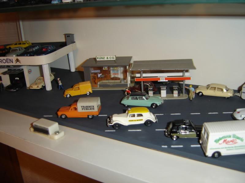 projet d'une Garage Citroen ech. 1/87 Nov09012