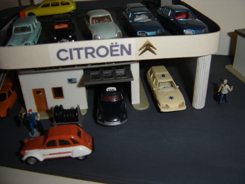 projet d'une Garage Citroen ech. 1/87 Nov09013