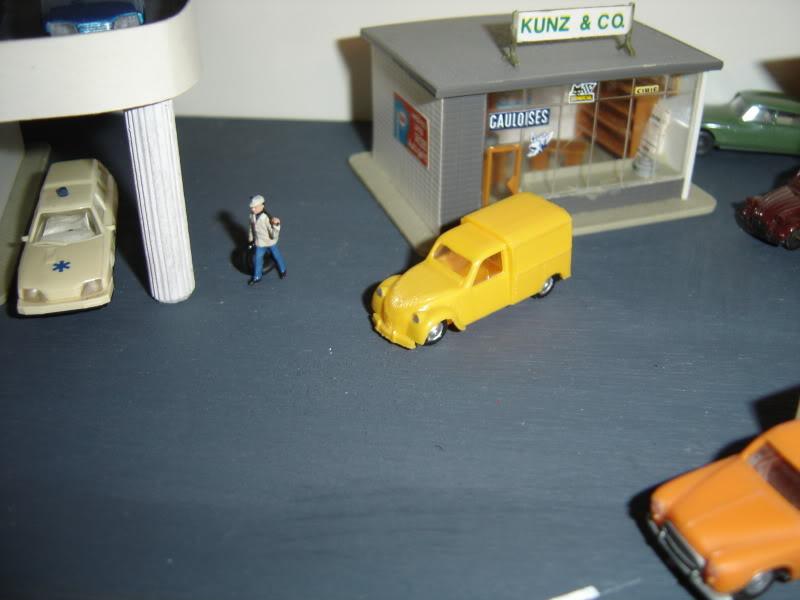 projet d'une Garage Citroen ech. 1/87 Nov09014