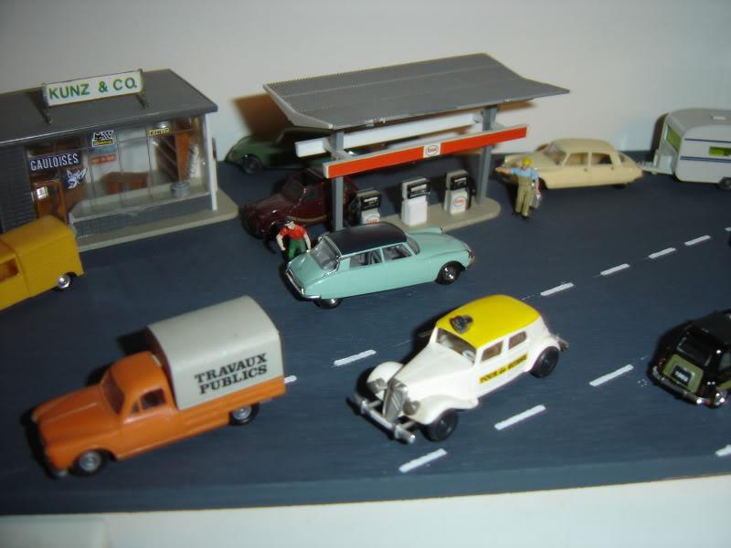 projet d'une Garage Citroen ech. 1/87 Nov09015
