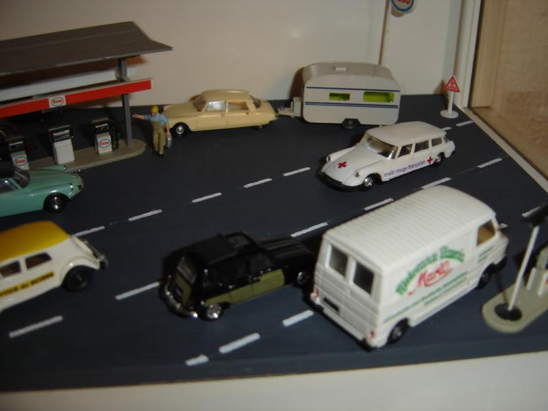 projet d'une Garage Citroen ech. 1/87 Nov09017