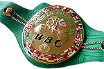 WBC UNDISPUTED MW CHAMPION