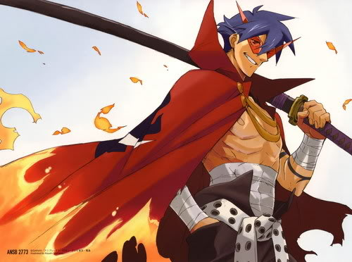 Grandes personajes anime! Kamina