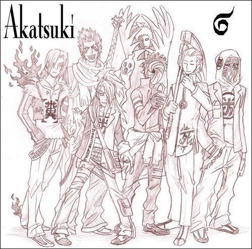Organización Akatsuki Akatsuki17