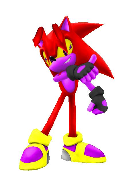 Blase The Hedgehog New Style... IN FREA DEEEEEAAA!!! ...In other words blase the hedgehog in 3D Blase3Drender