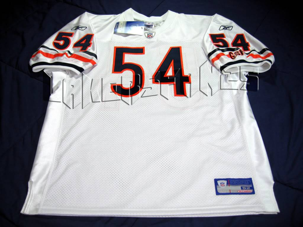 Authentic Chicago Bears Away Urlacher Jersey IMG_2509