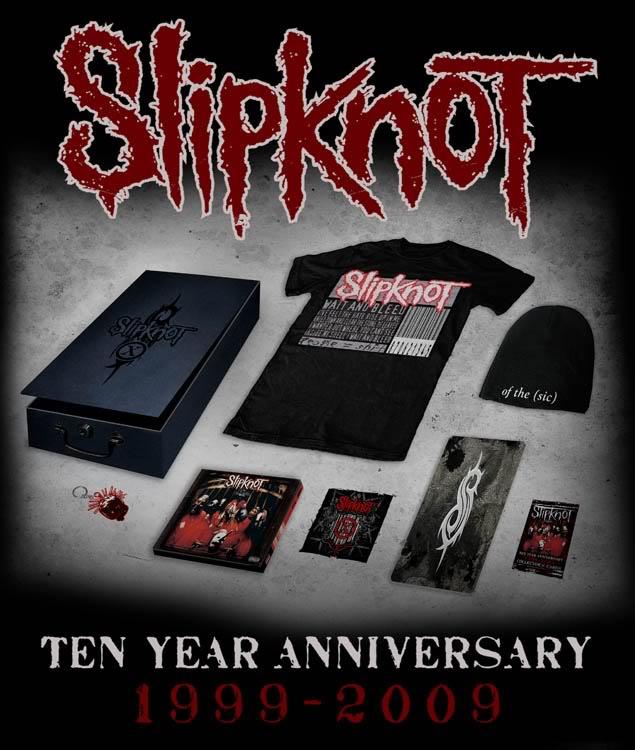 Slipknot 10th Anniversary rerelease PACKSHOT