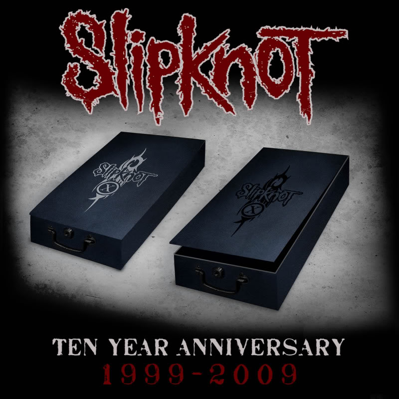 Slipknot 10th Anniversary rerelease PACKSHOT_Boxes