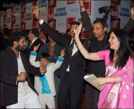 La première de Slumdog Millionaire à Mumbai Photo-3
