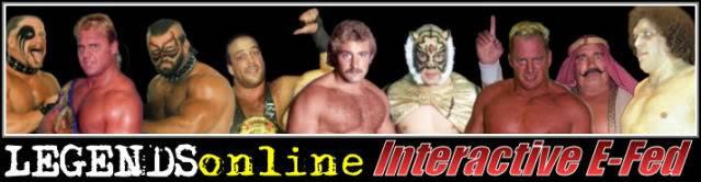 Legends Online Interactive Wrestling (LOIW) LOefed-3