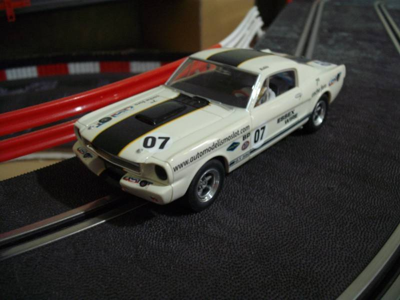 MIS COCHES DE SLOT EUROPEO FORDMUSTANG