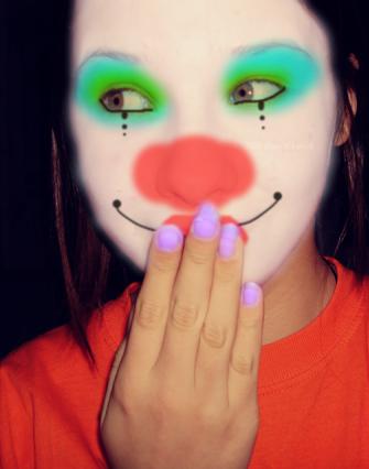 Circus Performer Badge Clown