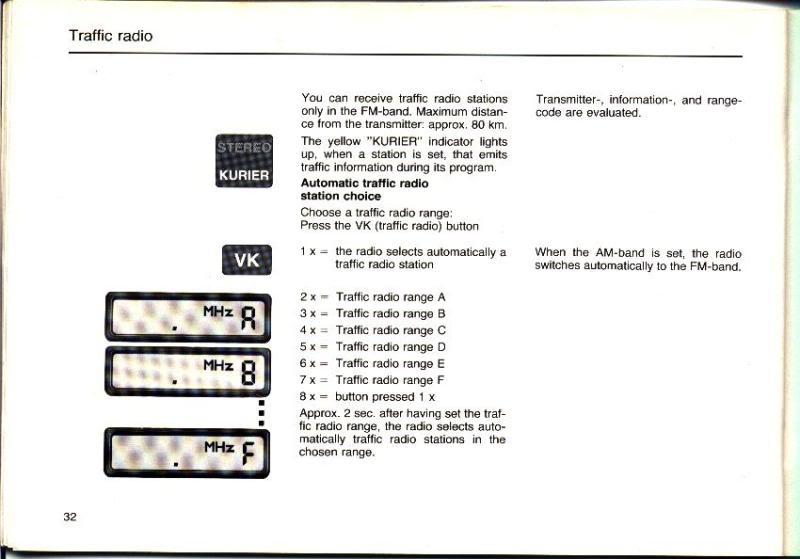 Garantia e assistência técnica rádio Becker 610 e antena elétrica Hirschmannn Manualbecker11